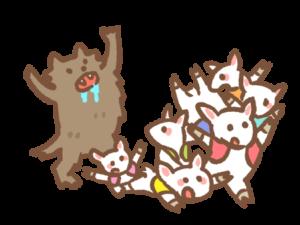 オオカミと七匹の子ヤギ