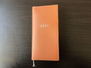 2021年の手帳