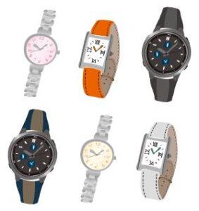 腕時計のイラスト画像