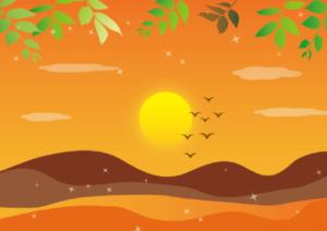 夏の終わりのイメージ画像