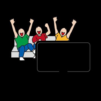 テレビ観戦のイメージ画像